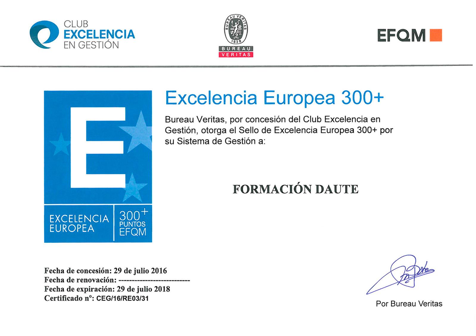 EFQM +300